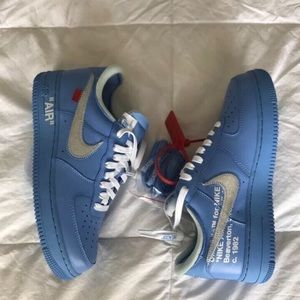 Off White MCA Air Force 1 size 9